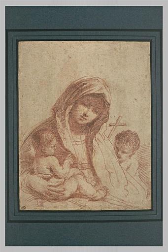 La Vierge à l'Enfant avec le petit saint Jean_0