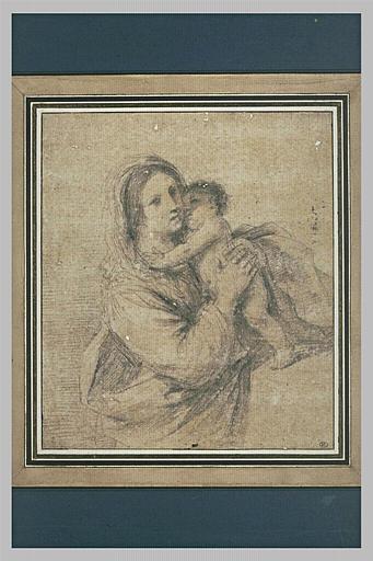 La Vierge prenant l'Enfant dans ses bras_0