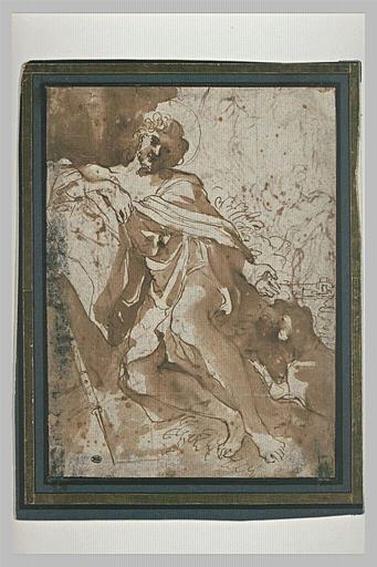 BARBIERI Giovanni Francesco : Saint Roch