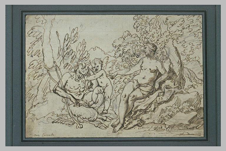 Pan et l'Amour près de Vénus ou Syrinx