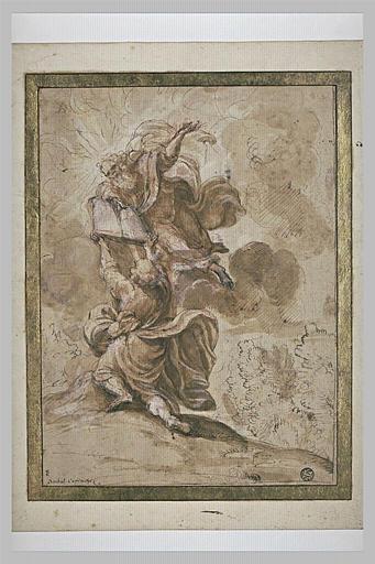 Moïse recevant les Tables de la Loi