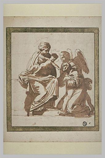 Saint Hyacinthe présentée à la Vierge et à l'Enfant Jésus