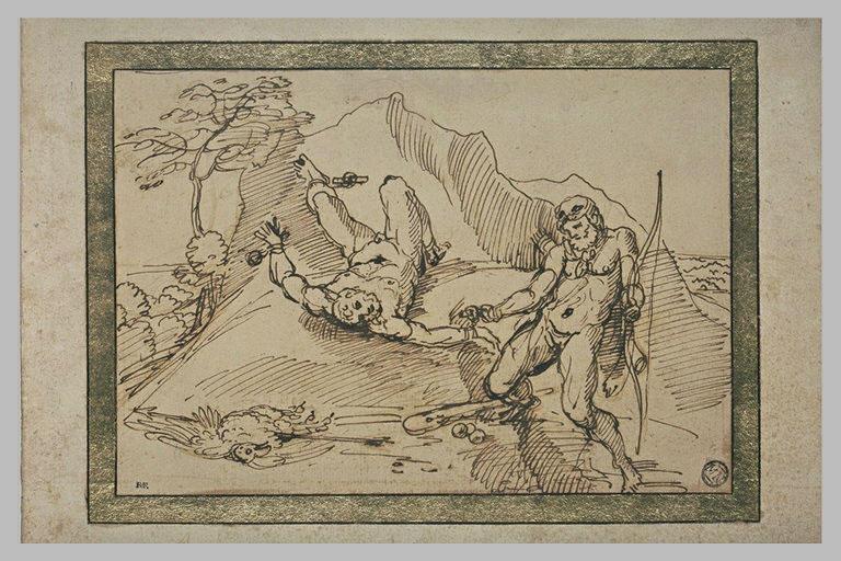 Prométhée délivré par Hercule