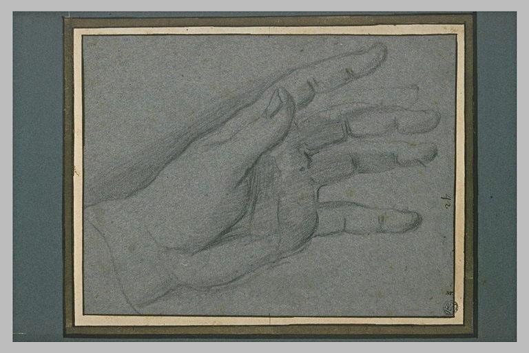 Main gauche pendante