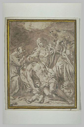 Déploration du Christ mort par la Vierge, saint François et sainte Madeleine