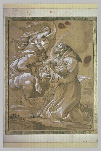 La Vierge confiant l'Enfant Jésus à saint Antoine de Padoue