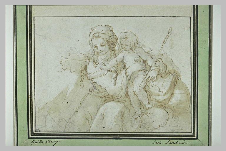 Sainte Elizabeth et le petit saint Jean