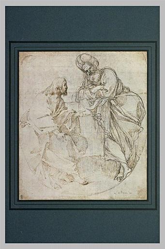 Le Christ et Nicodème