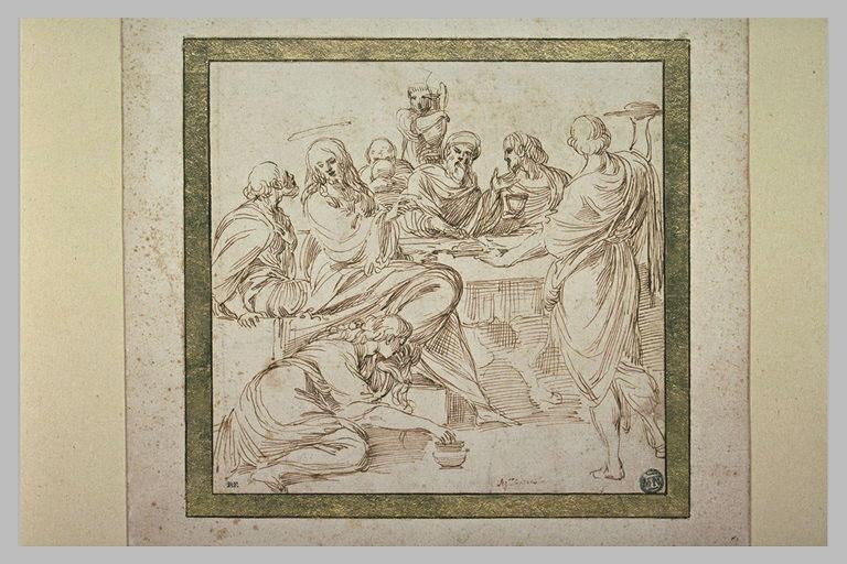 Marie-Madeleine aux pieds du Christ