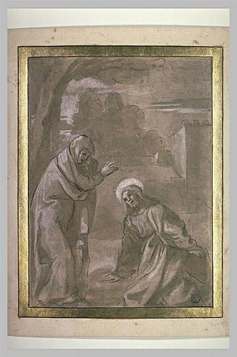 L'adieu du Christ à la Vierge