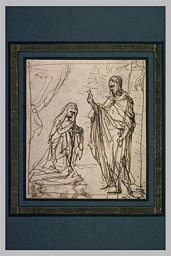 Apparition du Christ à sainte Thérèse