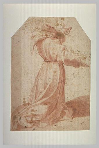 Saint François à genoux
