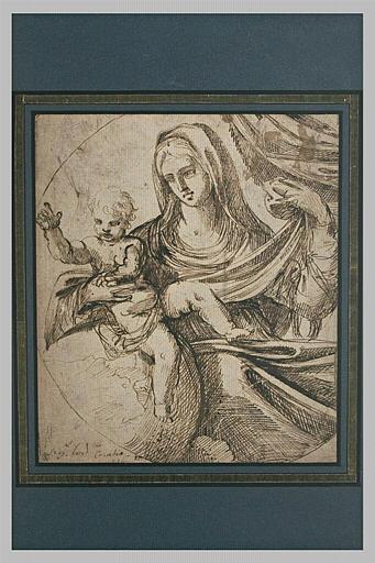 La Vierge à l'Enfant dans un tondo