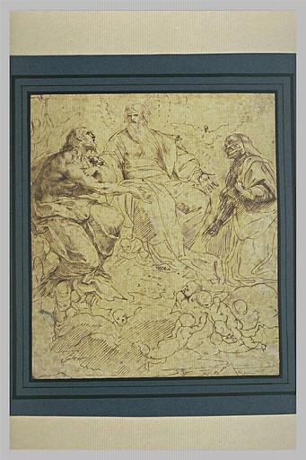 La Trinité et la Vierge en gloire