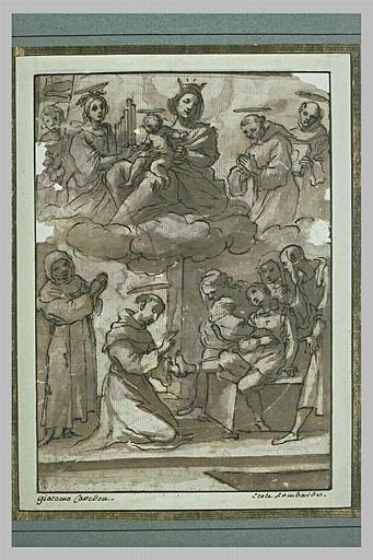 Saint Antoine de Padoue remettant à un enfant son pied coupé