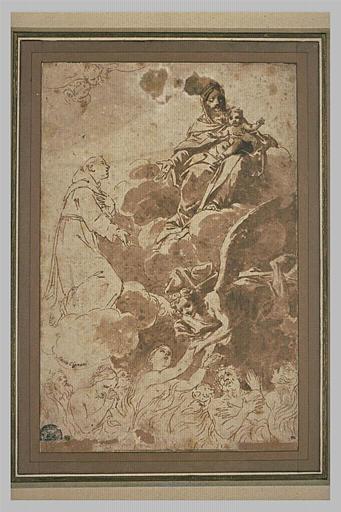 Ames délivrées du purgatoire par l'intercession de saint Antoine de Padoue