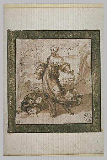 Sainte Marguerite foulant le démon