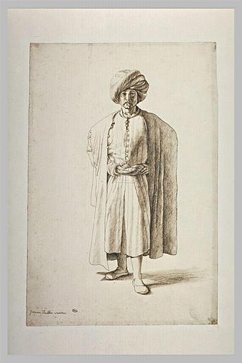 Un Turc, debout, vu de face