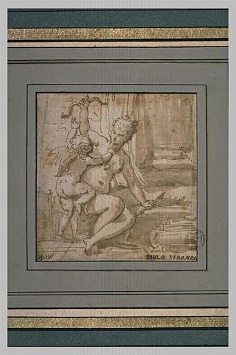 Vénus enlevant l'arc à l'Amour