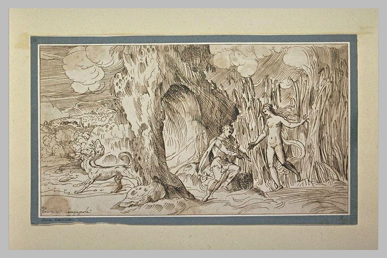 Orphée délivrant Eurydice de l'Enfer
