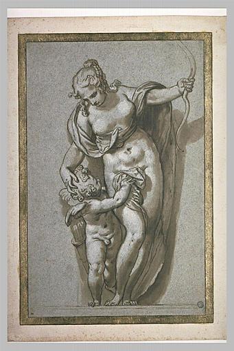 Vénus enlevant à l'Amour son arc