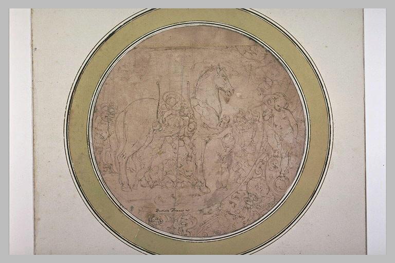 Les Grecs entrant dans le cheval de Troie