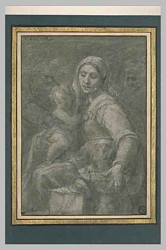 La Vierge, l'Enfant Jésus, saint Joseph, sainte Anne et le jeune saint Jean