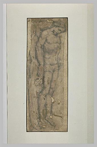 Le Christ mort étendu sur un linge