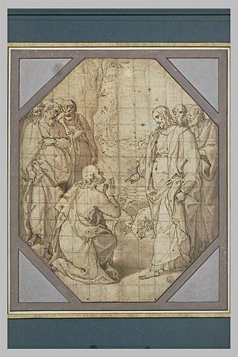 Christ remettant les clés à saint Pierre