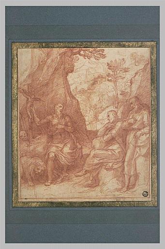 Saint Jérôme et saint Romuald