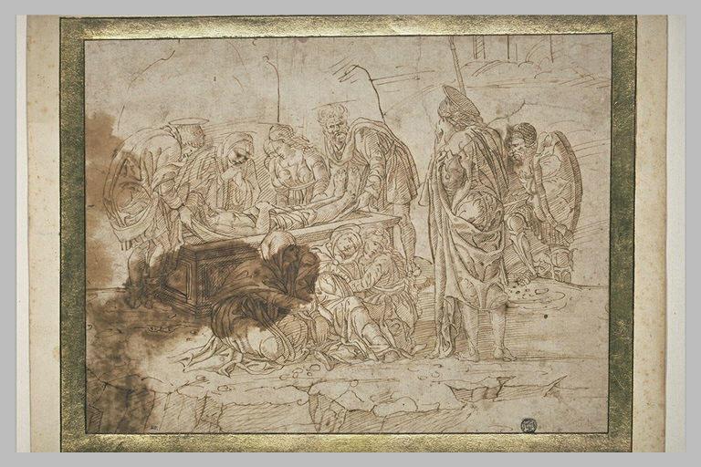 Mise au tombeau et Evanouissement de la Vierge