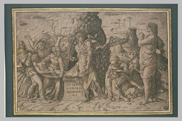 Le Christ mis au tombeau et Evanouissement de la Vierge