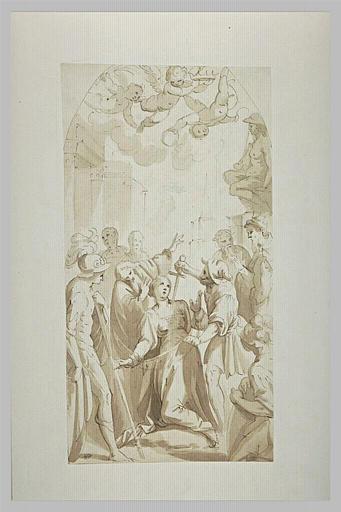 Martyre de sainte Agnès