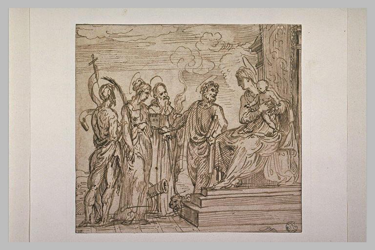 La Vierge à l'Enfant avec les saints Marc, Antoine, Barbe et Jean-Baptiste