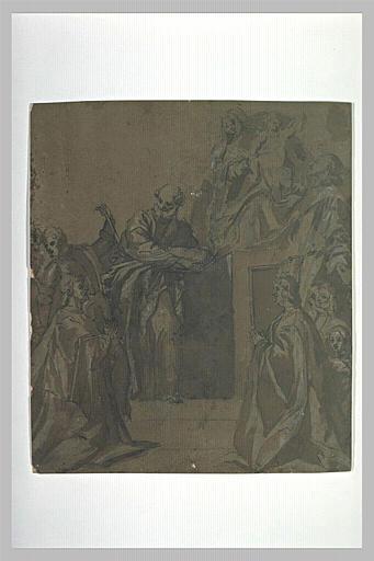La Vierge de la Famille Pesaro