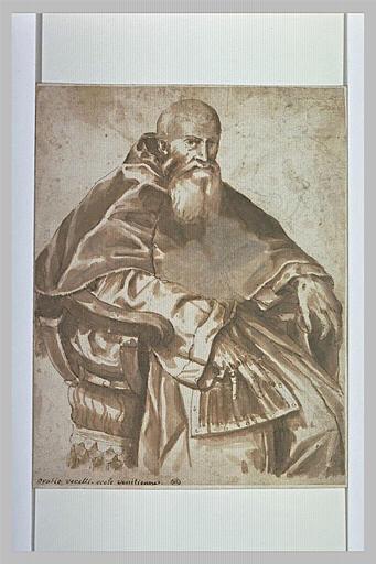Portrait du pape Paul III Farnèse