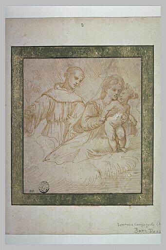 Vierge à l'Enfant avec saint Antoine de Padoue