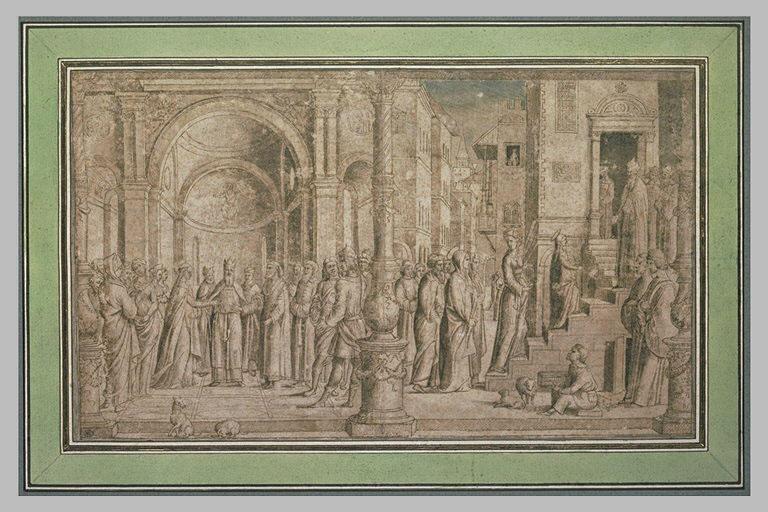 Le Mariage de la Vierge et la Présentation au temple_0