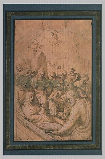 La Vierge mise au tombeau