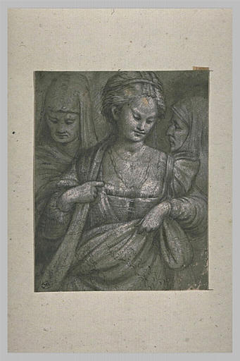 Judith, entre deux vieilles servantes, portant la tête d'Holopherne
