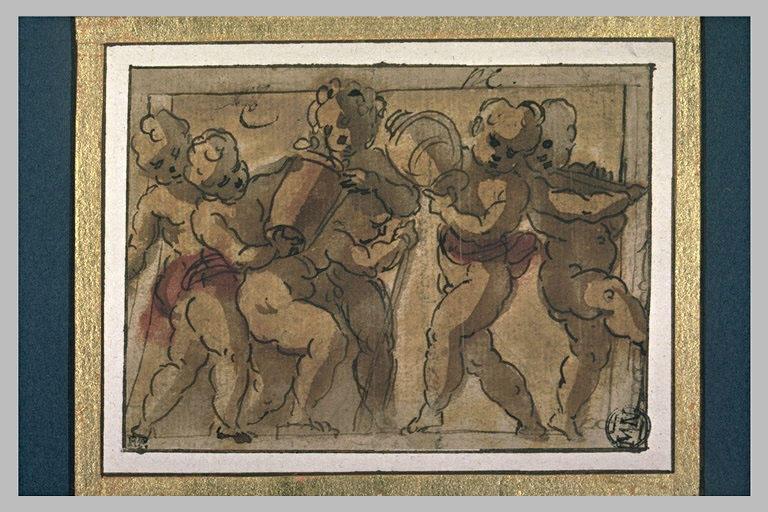 Cinq enfants jouant_0