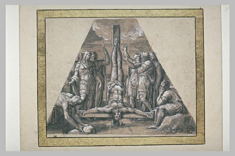 La crucifixion de saint Pierre