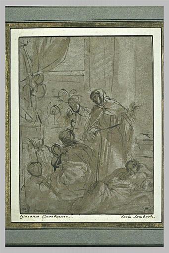 Saint Riniero de Pise guérissant les pestiférés