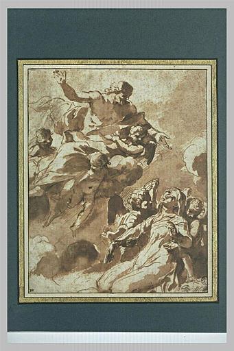 Apparition du Christ à sainte Marguerite de Cortone