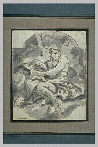 Saint Marc assis