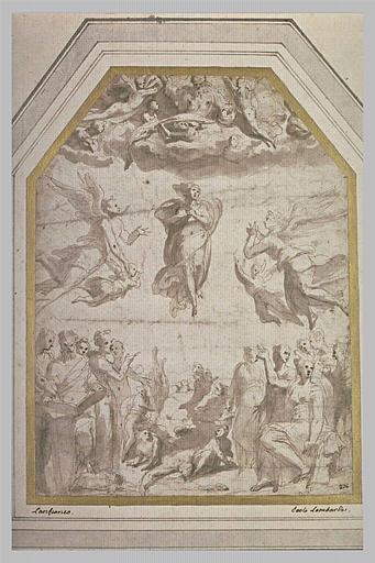 L'Assomption, avec prophètes et sibylles