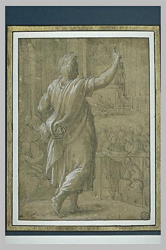 Saint Paul prêchant à Athènes (?)_0