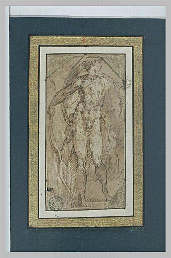 Apollon debout, appuyé sur son arc