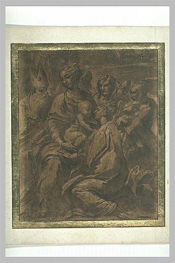 La Vierge à l'Enfant avec sainte Marguerite, saint Jérôme et un évêque