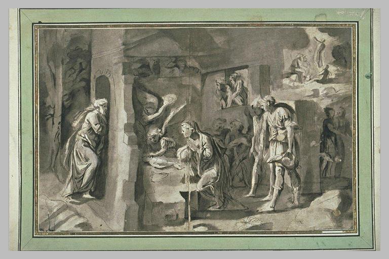 Adoration des bergers et des anges